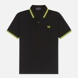 Мужское поло Fred Perry Laurel M12 Black фото- 0