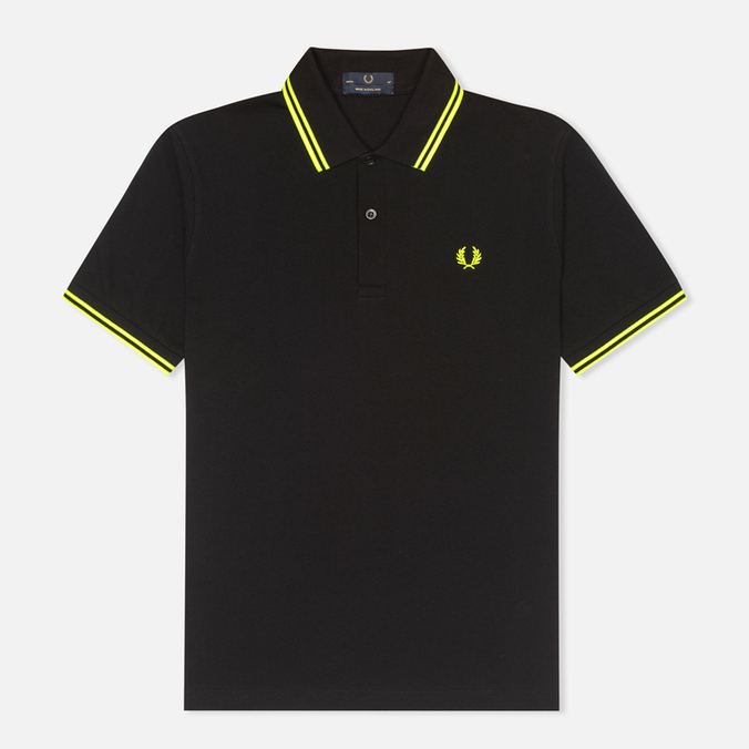 Мужское поло Fred Perry Laurel M12 Black