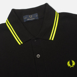 Fred Perry Laurel M12 Men's Polo Black photo- 1