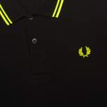 Мужское поло Fred Perry Laurel M12 Black фото- 2