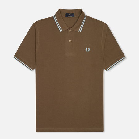Fred Perry Laurel M12 Men's Polo Chocolate
