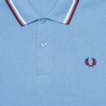 Мужское поло Fred Perry Laurel M12 Twin Tipped Mid Blue фото- 2
