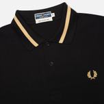 Мужское поло Fred Perry Laurel M2 Single Tipped Black фото- 1
