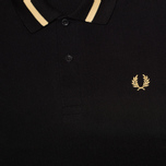Мужское поло Fred Perry Laurel M2 Single Tipped Black фото- 2