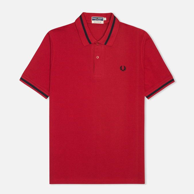 Мужское поло Fred Perry Laurel M2 Single Tipped Blood