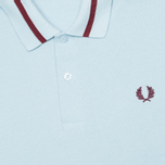 Fred Perry Laurel M2 Single Tipped Men's Polo Ice photo- 2