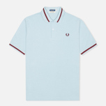Fred Perry Laurel M2 Single Tipped Men's Polo Ice photo- 0