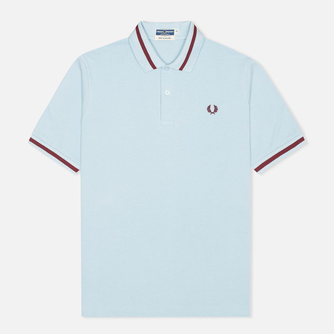 Мужское поло Fred Perry Laurel M2 Single Tipped Ice