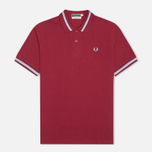 Fred Perry Laurel M2 Single Tipped Men's Polo Maroon photo- 0