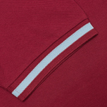 Fred Perry Laurel M2 Single Tipped Men's Polo Maroon photo- 3