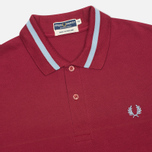 Мужское поло Fred Perry Laurel M2 Single Tipped Maroon фото- 1