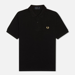 Мужское поло Fred Perry Laurel M3 Black фото- 0