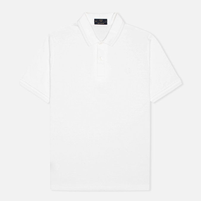 Мужское поло Fred Perry Laurel M3 White