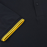 Мужское поло Fred Perry M1200 Twin Tipped Black/New Yellow фото- 3