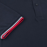 Мужское поло Fred Perry M1200 Twin Tipped Navy/White/Red фото- 3