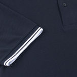 Мужское поло Fred Perry M1200 Twin Tipped Navy/White/White фото- 3