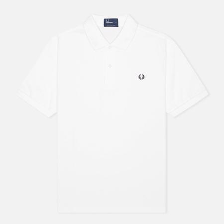 Fred Perry M3000 Plain Men's Polo White/Navy