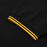 Мужское поло Fred Perry M3600 Twin Tipped Black/Bright Yellow/Bright Yellow фото- 4