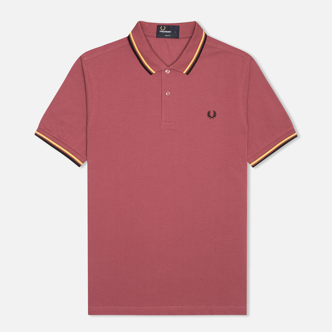 Мужское поло Fred Perry M3600 Twin Tipped Crushed Berry