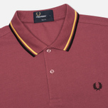 Мужское поло Fred Perry M3600 Twin Tipped Crushed Berry фото- 1