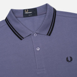 Мужское поло Fred Perry M3600 Twin Tipped Dark Lavender фото- 1