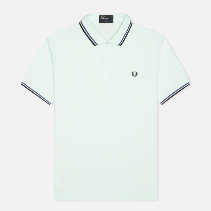 Мужское поло Fred Perry M3600 Twin Tipped Del La Mar