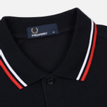 Мужское поло Fred Perry M3600 Twin Tipped Navy/White/Red фото- 1