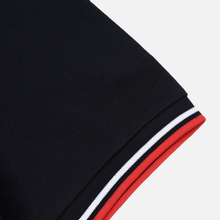Мужское поло Fred Perry M3600 Twin Tipped Navy/White/Red фото- 3