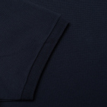 Maison Kitsune Tricolor Patch Men's Polo Navy photo- 3