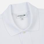 Мужское поло Lacoste L 12.12. White фото- 1