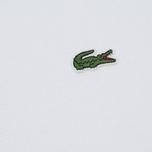Мужское поло Lacoste L 12.12. White фото- 3