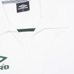 Мужское поло Umbro Pro Training Core Jersey White фото- 2