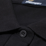 Женское поло Fred Perry Twin Tipped Black/Ecru фото- 3