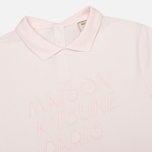 Женское поло Maison Kitsune Embroidered Pink фото- 1
