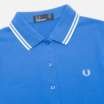 Fred Perry G9762 Twin Tipped Women's Polo Refresher Blue photo- 1