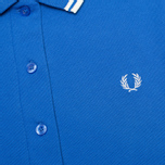 Женское поло Fred Perry G9762 Twin Tipped Refresher Blue фото- 2