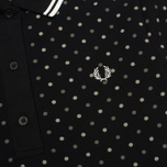 Женское поло Fred Perry Polka Dot Pique Black фото- 2