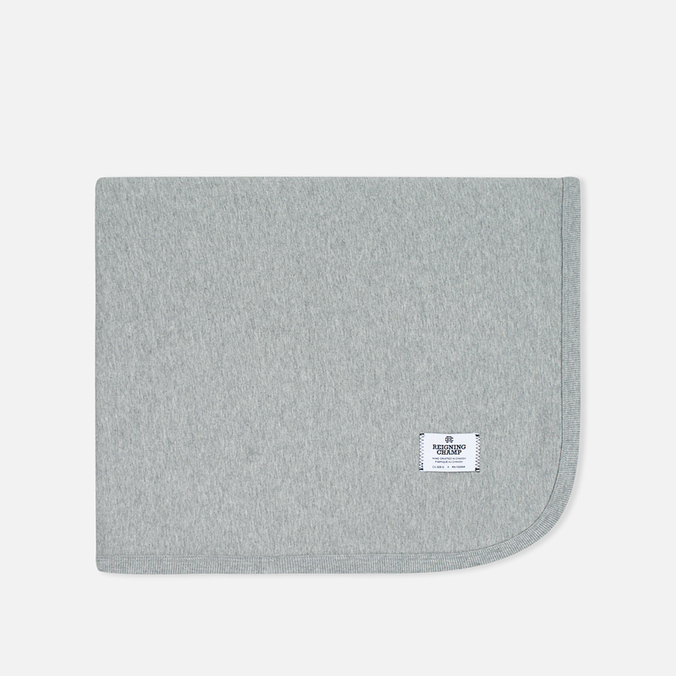 Плед Reigning Champ Midweight Twill Terry Blanket Heather Grey