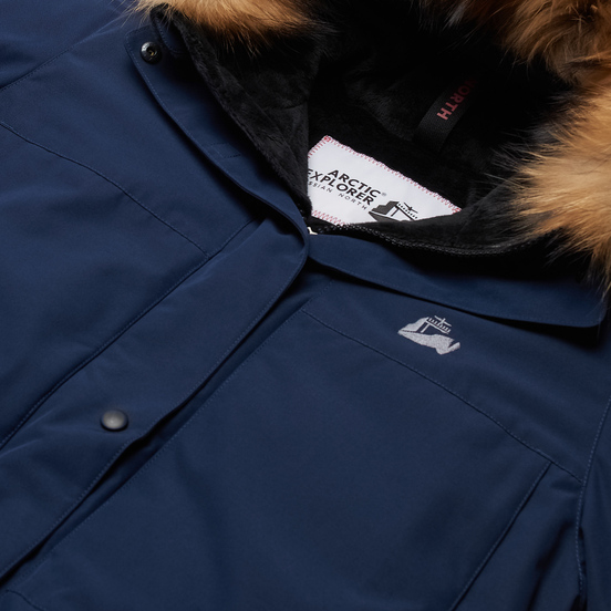 Женская куртка парка Arctic Explorer Polaris Navy