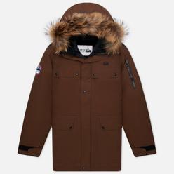 Мужская куртка парка Arctic Explorer Polus Cacao