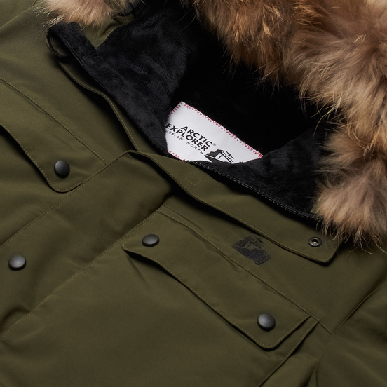 Мужская куртка парка Arctic Explorer Polus Khaki