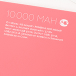 Портативный аккумулятор Rombica NEO NS100R Silver/Red фото- 9