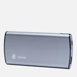 Портативный аккумулятор uBear 9000 mAh Grey фото- 1