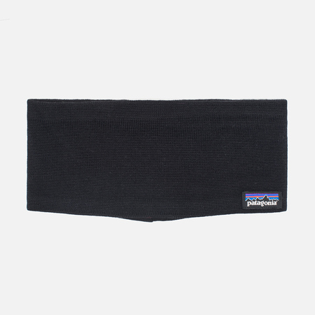 Patagonia Lined Knit Little Headband Black