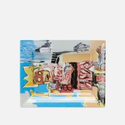 Поднос Ligne Blanche Jean-Michel Basquiat Yellow Crown & Bone