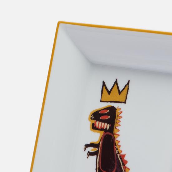 Поднос Ligne Blanche Jean-Michel Basquiat Gold Dragon
