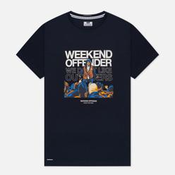 Мужская футболка Weekend Offender Bovver Navy