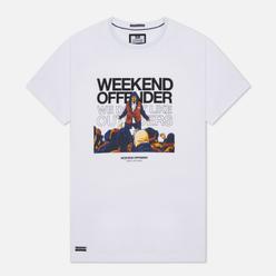 Мужская футболка Weekend Offender Bovver White