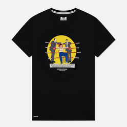 Мужская футболка Weekend Offender Mickey Black