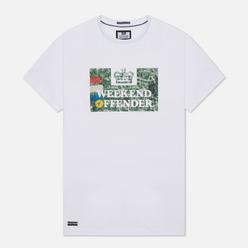 Мужская футболка Weekend Offender Badman White
